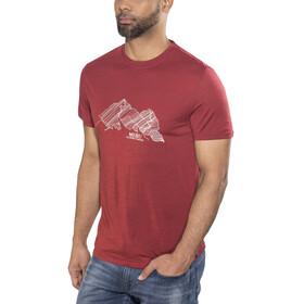 Meru M's Tumba T-Shirt Merlot